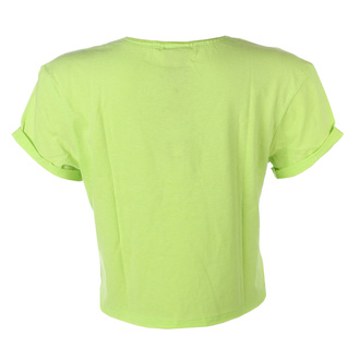 Maglietta da donna (top) QUEEN - ROYAL LOGO - OCEANO COLORE VERDE - AMPLIFIED, AMPLIFIED, Queen