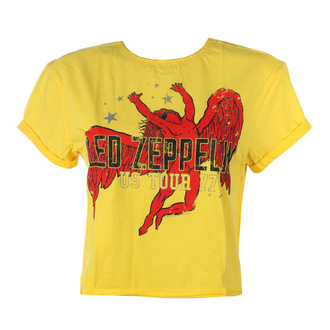 Maglietta da donna (top) LED ZEPPELIN - ICARUS - GIALLO CORVO - AMPLIFIED, AMPLIFIED, Led Zeppelin