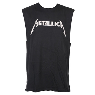 TOP unisex Metallica - White Logo - AMPLIFIED, AMPLIFIED, Metallica
