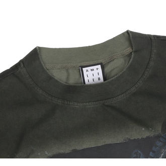 t-shirt uomo - KHAKI - AMPLIFIED, AMPLIFIED