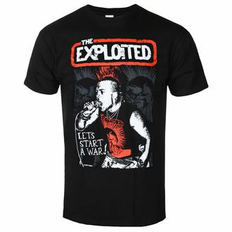 Maglietta da uomo EXPLOITED - LET'S START A WAR - PLASTIC HEAD, PLASTIC HEAD, Exploited