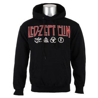 felpa con capuccio uomo Led Zeppelin - LOGO & SYMBOLS - PLASTIC HEAD, PLASTIC HEAD, Led Zeppelin