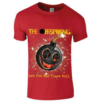 Maglietta da uomo Offspring - Hot Sauce - Bad Times - Rosso, NNM, Offspring