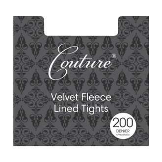 Collant LEGWEAR - Fashion velvet fleece lined - Nero, LEGWEAR